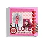 love - 4 x 4  Acrylic Photo Block