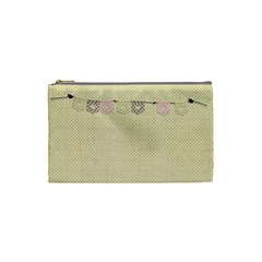 Cosmetic Bag Small By Deca   Cosmetic Bag (small)   22ufi0gkkzpt   Www Artscow Com Front