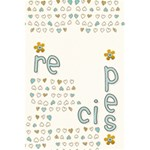 recipes notebook - 5.5  x 8.5  Notebook