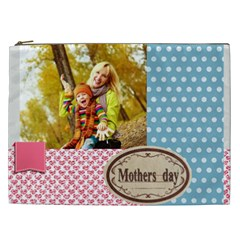 Mothers Day By Jo Jo   Cosmetic Bag (xxl)   Q9pb5dmlg20b   Www Artscow Com Front