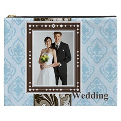 Wedding By Paula Green   Cosmetic Bag (xxxl)   Ukaujtj2a6pv   Www Artscow Com Front