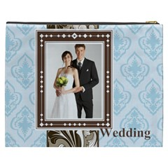 Wedding By Paula Green   Cosmetic Bag (xxxl)   Ukaujtj2a6pv   Www Artscow Com Back