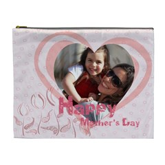 Mothers Day By Mom   Cosmetic Bag (xl)   Nzdyo92ityoq   Www Artscow Com Front