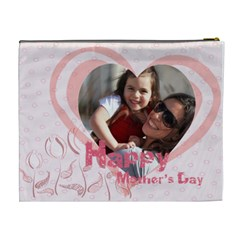 Mothers Day By Mom   Cosmetic Bag (xl)   Nzdyo92ityoq   Www Artscow Com Back