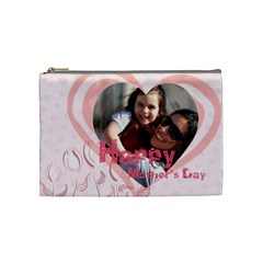 Mothers Day By Mom   Cosmetic Bag (medium)   Xc4u74hne8zf   Www Artscow Com Front