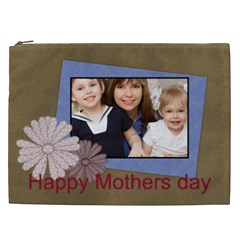 Mothers Day By Mom   Cosmetic Bag (xxl)   Q613mbv3k21v   Www Artscow Com Front