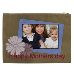 Mothers Day By Mom   Cosmetic Bag (xxl)   Q613mbv3k21v   Www Artscow Com Back
