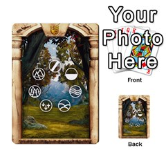 Runebound Tales   In The Wild By Fantastic Diversions / Ofgi   Multi Purpose Cards (rectangle)   L0yaqp7njdsi   Www Artscow Com Back 9