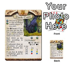 Runebound Tales   In The Wild By Fantastic Diversions / Ofgi   Multi Purpose Cards (rectangle)   L0yaqp7njdsi   Www Artscow Com Front 45