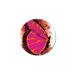Pink Butter T Copy 10 Pack Golf Ball Marker