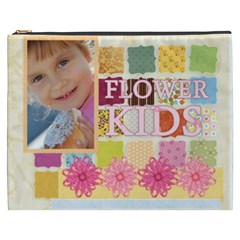 Flower Kids By Jo Jo   Cosmetic Bag (xxxl)   Z1psn4z43i8y   Www Artscow Com Front
