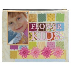 Flower Kids By Jo Jo   Cosmetic Bag (xxxl)   Z1psn4z43i8y   Www Artscow Com Back
