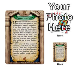 Cities Of Adventure: Reference Cards By Fantastic Diversions / Ofgi   Multi Purpose Cards (rectangle)   R4p0zmf66r2a   Www Artscow Com Back 1