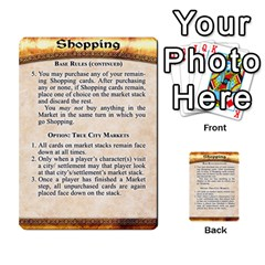 Cities Of Adventure: Reference Cards By Fantastic Diversions / Ofgi   Multi Purpose Cards (rectangle)   R4p0zmf66r2a   Www Artscow Com Front 53