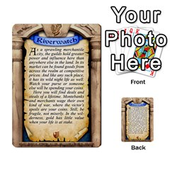 Cities Of Adventure: Reference Cards By Fantastic Diversions / Ofgi   Multi Purpose Cards (rectangle)   R4p0zmf66r2a   Www Artscow Com Back 6