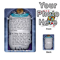 Cities Of Adventure: Reference Cards By Fantastic Diversions / Ofgi   Multi Purpose Cards (rectangle)   R4p0zmf66r2a   Www Artscow Com Back 11