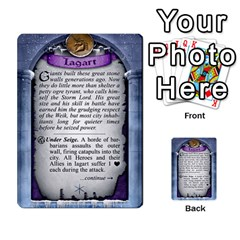 Cities Of Adventure: Reference Cards By Fantastic Diversions / Ofgi   Multi Purpose Cards (rectangle)   R4p0zmf66r2a   Www Artscow Com Back 12