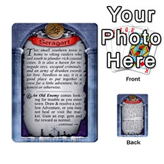 Cities Of Adventure: Reference Cards By Fantastic Diversions / Ofgi   Multi Purpose Cards (rectangle)   R4p0zmf66r2a   Www Artscow Com Back 14