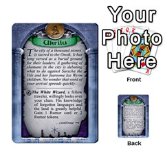 Cities Of Adventure: Reference Cards By Fantastic Diversions / Ofgi   Multi Purpose Cards (rectangle)   R4p0zmf66r2a   Www Artscow Com Back 15