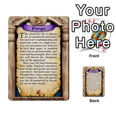Cities Of Adventure: Reference Cards By Fantastic Diversions / Ofgi   Multi Purpose Cards (rectangle)   R4p0zmf66r2a   Www Artscow Com Back 2