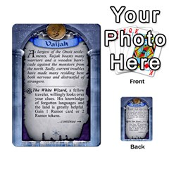 Cities Of Adventure: Reference Cards By Fantastic Diversions / Ofgi   Multi Purpose Cards (rectangle)   R4p0zmf66r2a   Www Artscow Com Back 16