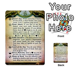 Cities Of Adventure: Reference Cards By Fantastic Diversions / Ofgi   Multi Purpose Cards (rectangle)   R4p0zmf66r2a   Www Artscow Com Front 19