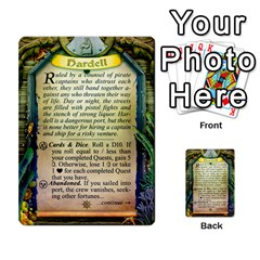 Cities Of Adventure: Reference Cards By Fantastic Diversions / Ofgi   Multi Purpose Cards (rectangle)   R4p0zmf66r2a   Www Artscow Com Back 22