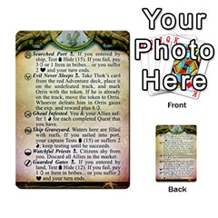 Cities Of Adventure: Reference Cards By Fantastic Diversions / Ofgi   Multi Purpose Cards (rectangle)   R4p0zmf66r2a   Www Artscow Com Front 23