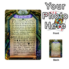 Cities Of Adventure: Reference Cards By Fantastic Diversions / Ofgi   Multi Purpose Cards (rectangle)   R4p0zmf66r2a   Www Artscow Com Back 26