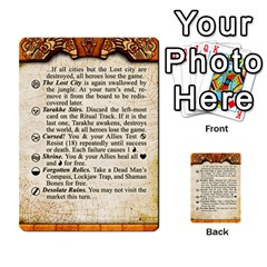 Cities Of Adventure: Reference Cards By Fantastic Diversions / Ofgi   Multi Purpose Cards (rectangle)   R4p0zmf66r2a   Www Artscow Com Front 29