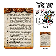 Cities Of Adventure: Reference Cards By Fantastic Diversions / Ofgi   Multi Purpose Cards (rectangle)   R4p0zmf66r2a   Www Artscow Com Front 34