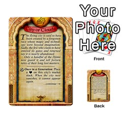 Cities Of Adventure: Reference Cards By Fantastic Diversions / Ofgi   Multi Purpose Cards (rectangle)   R4p0zmf66r2a   Www Artscow Com Back 39