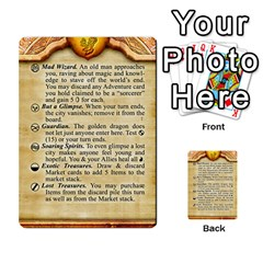 Cities Of Adventure: Reference Cards By Fantastic Diversions / Ofgi   Multi Purpose Cards (rectangle)   R4p0zmf66r2a   Www Artscow Com Front 40