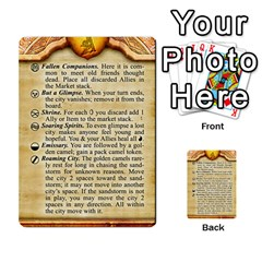 Cities Of Adventure: Reference Cards By Fantastic Diversions / Ofgi   Multi Purpose Cards (rectangle)   R4p0zmf66r2a   Www Artscow Com Front 41