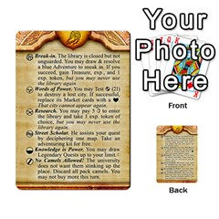 Cities Of Adventure: Reference Cards By Fantastic Diversions / Ofgi   Multi Purpose Cards (rectangle)   R4p0zmf66r2a   Www Artscow Com Front 42