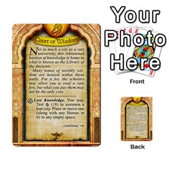 Cities Of Adventure: Reference Cards By Fantastic Diversions / Ofgi   Multi Purpose Cards (rectangle)   R4p0zmf66r2a   Www Artscow Com Back 42