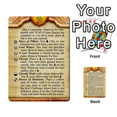 Cities Of Adventure: Reference Cards By Fantastic Diversions / Ofgi   Multi Purpose Cards (rectangle)   R4p0zmf66r2a   Www Artscow Com Front 44