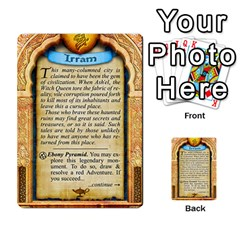 Cities Of Adventure: Reference Cards By Fantastic Diversions / Ofgi   Multi Purpose Cards (rectangle)   R4p0zmf66r2a   Www Artscow Com Back 44