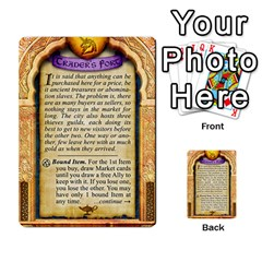 Cities Of Adventure: Reference Cards By Fantastic Diversions / Ofgi   Multi Purpose Cards (rectangle)   R4p0zmf66r2a   Www Artscow Com Back 46