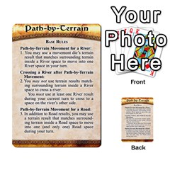 Cities Of Adventure: Reference Cards By Fantastic Diversions / Ofgi   Multi Purpose Cards (rectangle)   R4p0zmf66r2a   Www Artscow Com Back 50