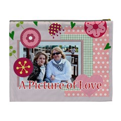 Mothers Day By Mom   Cosmetic Bag (xl)   Vj8c2gh770ef   Www Artscow Com Back