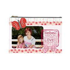Mothers Day By Mom   Cosmetic Bag (large)   Hqq7higv3gd6   Www Artscow Com Front