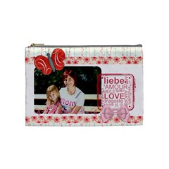 Mothers Day By Mom   Cosmetic Bag (medium)   Btixssmgcs6h   Www Artscow Com Front