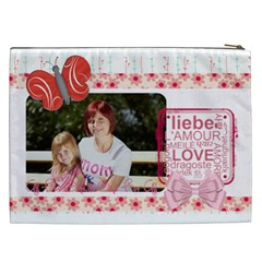 Mothers Day By Mom   Cosmetic Bag (xxl)   Jrygaaizitg9   Www Artscow Com Back