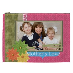 Mothers Day By Mom   Cosmetic Bag (xxl)   Gelsgpvbrddq   Www Artscow Com Front