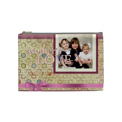 Mothers Day By Mom   Cosmetic Bag (medium)   Vicc9noo8iat   Www Artscow Com Front
