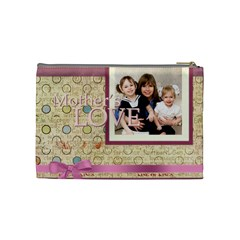 Mothers Day By Mom   Cosmetic Bag (medium)   Vicc9noo8iat   Www Artscow Com Back