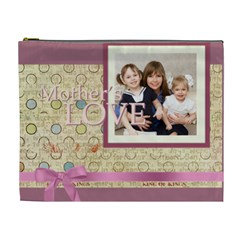 Mothers Day By Mom   Cosmetic Bag (xl)   Ic8ppgam9vxb   Www Artscow Com Front