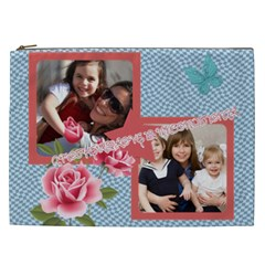 Mothers Day By Mom   Cosmetic Bag (xxl)   D796tkoe57k6   Www Artscow Com Front