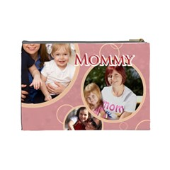 Mothers Day By Mom   Cosmetic Bag (large)   04zcffa3rbu9   Www Artscow Com Back